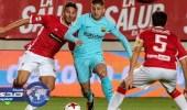 فيديو.. برشلونة يبدأ حملة الدفاع عن كأس إسبانيا بثلاثية في مرسية