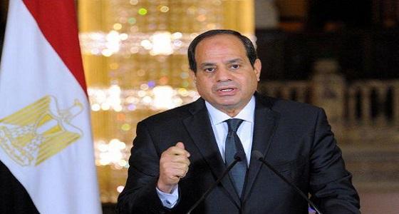 الرئيس المصري: المياه مسألة حياة أو موت