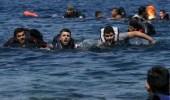 البحرية الليبية تنقذ 120 مهاجرًا غير شرعي