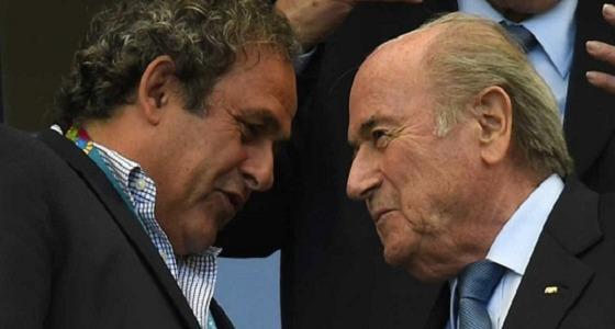 """"""" بلاتر """" : فرنسا ساهمت بقوة في فوز قطر بتنظيم مونديال 2022"""