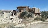 بالصور.. زلزال إيران يتسبب في اختفاء قرى