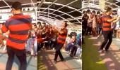 بالفيديو.. معلم يرقص باحترافيه وسط طالباته في رحلة مدرسية