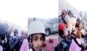 بالفيديو.. الأمير منصور بن مقرن في الميدان مع أبطال الحد الجنوبي