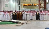 أداء الصلاة على الأميرة مضاوي بنت عبدالعزيز