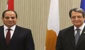 الرئيس المصري: ندعم جهود توحيد جزيرة قبرص