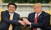 ترامب ورئيس الوزراء الياباني يبحثان إطلاق كوريا الشمالية لصاروخ باليستي
