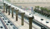 """"""" المرور """" يعلن فتح طريق الملك فهد بعد الانتهاء من أعمال المترو"""