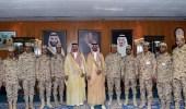 بالصور.. وزير الحرس الوطني يقلّد عدداً من الضباط رتبة لواء
