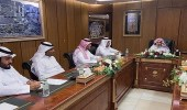 رئيس شؤون المسجد الحرام يطلع على الخطط الموضوعة للحالة المطرية