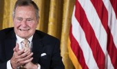 """"""" بوش الأب """" يسجل رقمًا قياسيًا جديدًا في تاريخ أمريكا"""