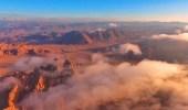 """مصور يوثق مرتفعات """" نيوم """"  بتشكيلات رائعة"""