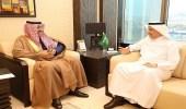 أمير الباحة يبحث مع وزير البيئة والمياه والزراعة أهم المشروعات