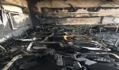 """"""" مدني الرياض """" يُخمد حريقاً في مدرسة ابتدائية بـ """" العريجاء """""""