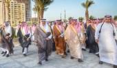 بالصور.. أمير مكة يفتتح مشروع الكورنيش الشمالي بجدة
