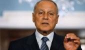 أبوالغيط يدعو لإطلاق عملية تفاوضية لإنهاء الاحتلال الإسرائيلي وإقامة دولة فلسطينية