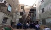 بالصور| بناية تميل على أخرى في مصر مجددًا وسقوط ضحايا