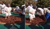 الزراعة تكشف حقيقة فيديو دعس التمور بالأقدام