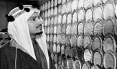 صورة نادرة للملك خالد والشيخ إبراهيم السليمان في بريطانيا