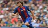 برشلونة يعلن غياب سيرجي روبرتو