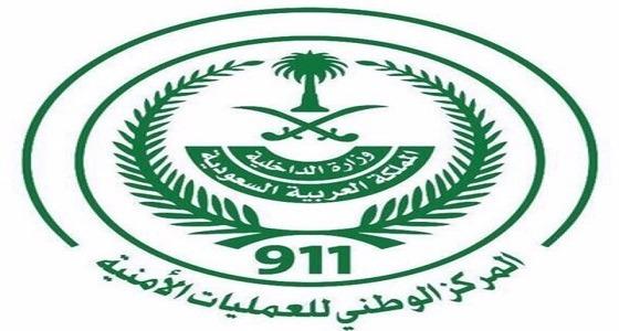 """"""" 911 """" : احتجاز 4 أشخاص بسبب الأمطار الغزيرة في رابغ"""