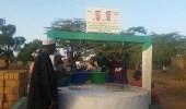 بالفيديو والصور.. مواطن يحفر بئر ماء في هيلا بالسنغال