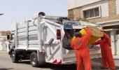 أمانة تبوك ترفع 156648 طنا من النفايات خلال 6 أشهر