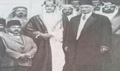 صورة نادرة للملك سعود مع الزعيم المصري سعد زغلول