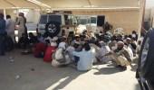 بالصور.. ضبط 33 وافدًا مخالفًا لأنظمة الإقامة في الرياض
