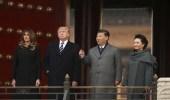 """بالفيديو.. الرئيس الأمريكي وزوجته في """" المدينة المحرمة """""""