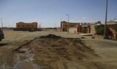 بالصور.. ترميم وإصلاح الحفريات بشوارع طريف