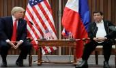 ترامب يشيد بالرئيس الفلبيني متحديًا جماعات حقوق الإنسان