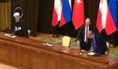 بالفيديو.. بوتين يحرج أردوغان في مؤتمر صحفي أمام الجميع