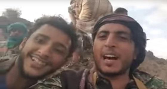 بالفيديو.. تصفية متمردون حوثيون لحظة التقاطهم سيلفي