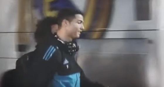 بالفيديو.. لحظة نجاة نجوم ريال مدريد من الموت