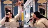 بالفيديو| أحلام تشبه أمير قطر بالنبي ومغردون: تطبيل مجنون