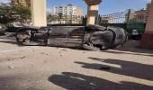 بالفيديو والصور| تهشيم سيارة برلماني مصري لصفعه موظفة من أجل ابنته