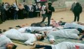 شاهد.. طلاب مدرسة مصرية يجسدون مجزرة مسجد الروضة