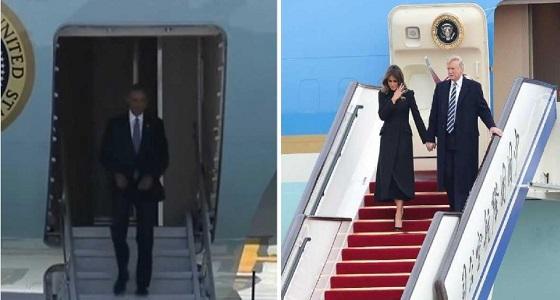 بالفيديو.. كيف استقبلت الصين ترامب مقارنة بأوباما