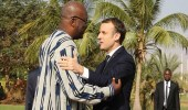 سؤال طالب يثير أزمة بين ماكرون ونظيره في بوركينا فاسو