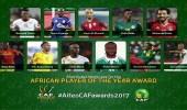 العرب يزينون قائمة المرشحين لجائزة أفضل لاعب في أفريقيا
