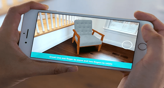 أمازون تتيح لعملائها خدمة تحريك أثاث المنزل بالواقع الافتراضي