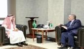 الغفيص يبحث مع السفير الأردني أوجه التعاون بين البلدين وسبل تطويرها