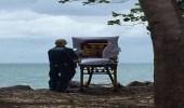 مسعفون يحققون أمنية مريضة على فراش الموت