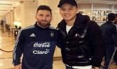 ميسي يعتذر لزميله في منتخب الأرجنتين بعد موقف محرج