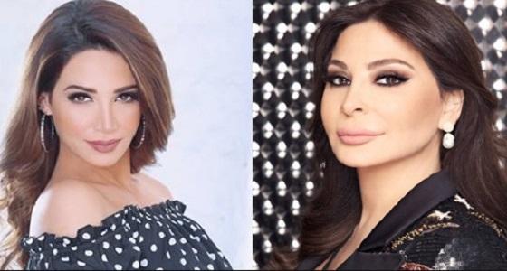 أليسا وديانا حداد في دبي برأس السنة