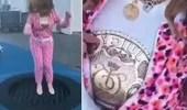 """بالفيديو.. فنانة سورية تتجول في الشارع بـ """" بيجامة """""""