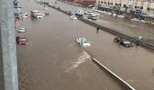 """"""" درء السيول """" يتسبب في غرق منازل الطائف"""