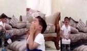 بالفيديو.. طفل كويتي يبكي متأثرا بعد خسارة منتخب بلاده من عمان