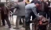 بالفيديو.. شاب ينتقم من عشيق زوجته بطريقته الخاصة