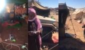 بالفيديو.. مواطن وأسرته وسط برد الصحراء بأحد رفيدة.. ومطالبات بتوفير سكن
